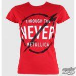 Dámské triko Metallica Through Never