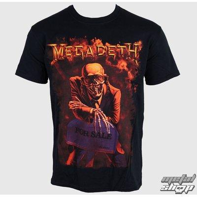 tričko megadeth luxus