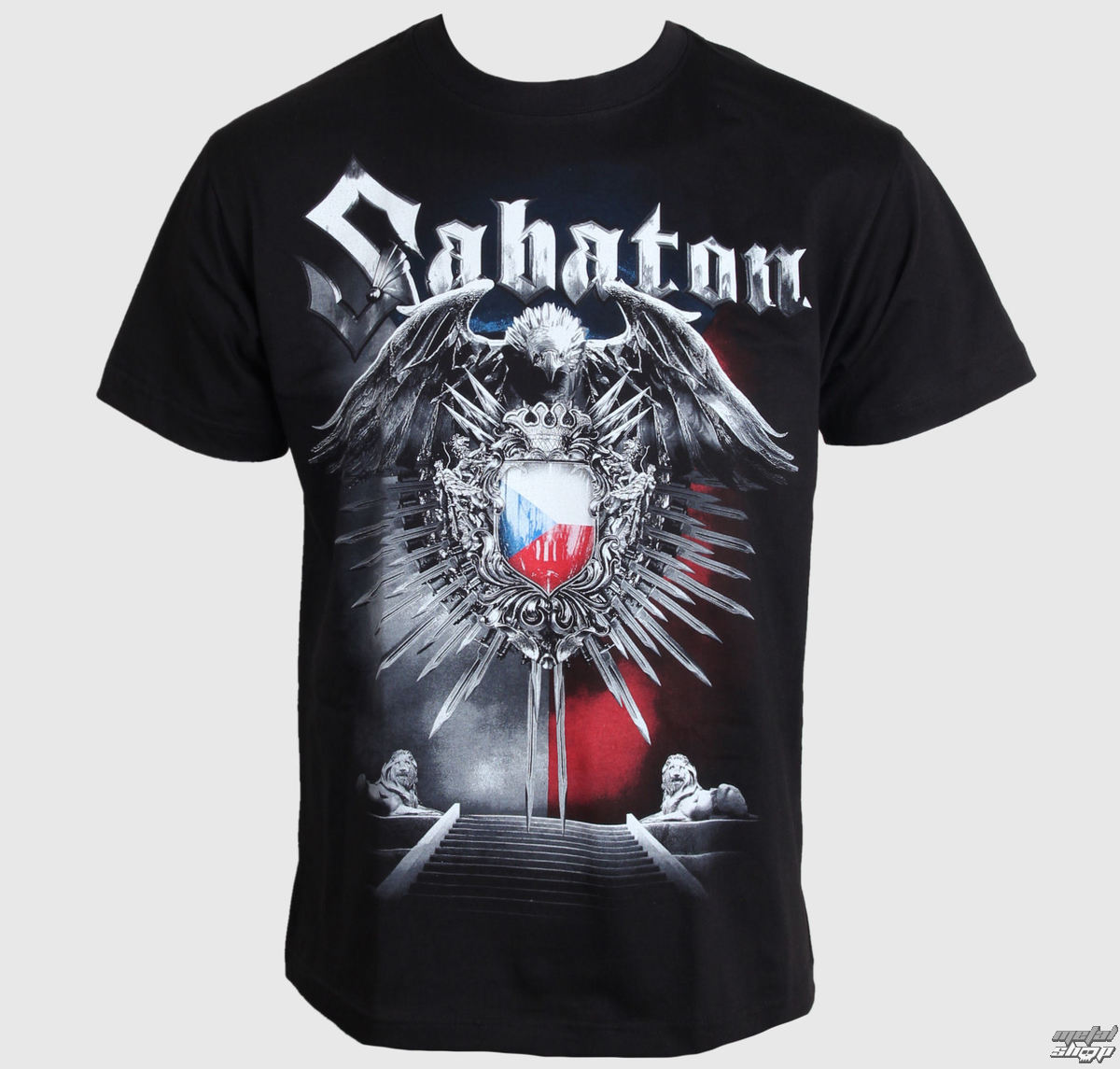 48ccaedccda8 Není to tak dlouho co se objevilo tričko Sabaton s českou vlajkou. Triko  mělo velkej úspěch a tak není divu