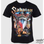 Tričko Sabaton s českou vlajkou